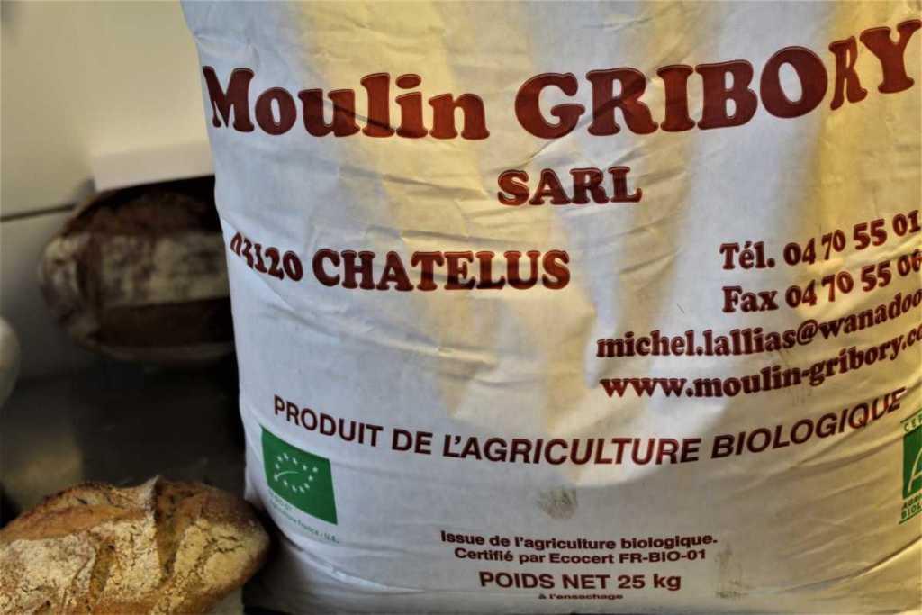 Sac Farine Moulin Gribory